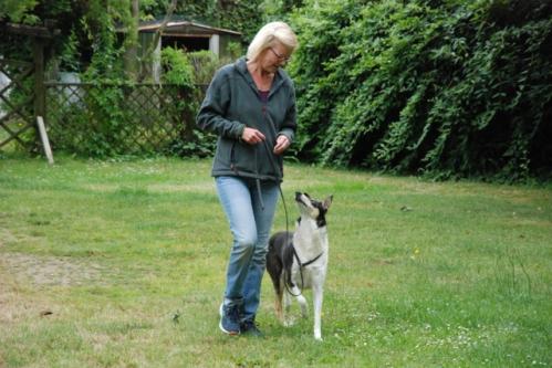 Sabine mit Missy